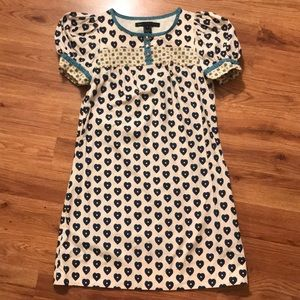 Marc by Marc Jacobs heart-print dress